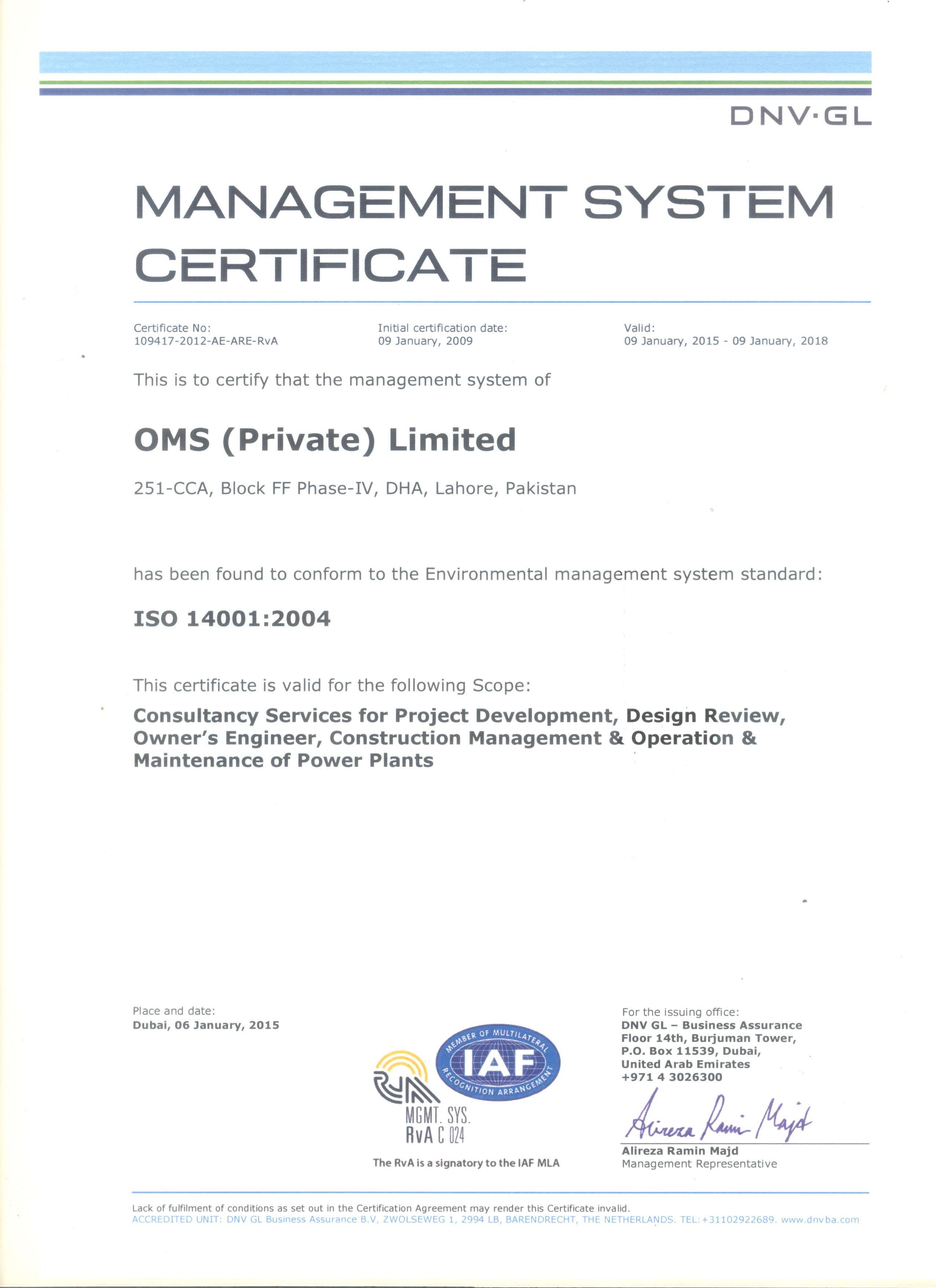 ISO 14001:2004 image